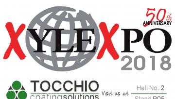 Tocchio International parteciperà a XYLEXPO 2018